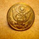 Vintage Waterbury military metal  button.