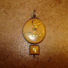 Lioness Club Perfect attendance 4 all metal pendant.