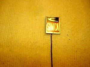 Vintage Simca car advertising stick pin badge offered by MTH
