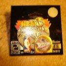 NBA Champions 2004 Pistons pin badge.