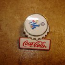 World cup soccer France 1998 sponsered by Coca Cola soccer pin badge.