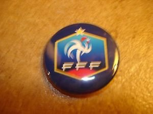 French Foodball Federation Football Soccer Club Official Metal Button Badge.