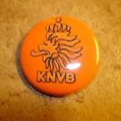 Holland KNVB FC Football Soccer Club Official Metal Button Badge.