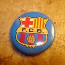Barcelona FC Football Soccer Club Official Metal Button Badge.