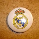 Real Madrid FC Football Soccer Club Official Metal Button Badge.