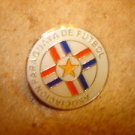 FIFA World Cup Germany 2006 Paraguay soccer pin badge.