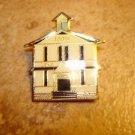 100th Lake shore all metal brooch pin