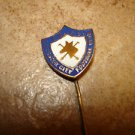 Vintage Leicester City F.C. all metal soccer stick pin badge.