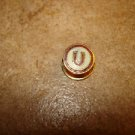 Vintage Universiad de Chile button hole soccer pin badge.