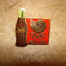 Seoul 1988 Coca Cola olympic all metal pin badge.