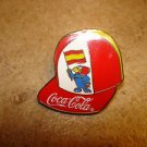 World cup soccer France 1998 Spain Coca Cola pin badge.