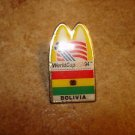 World cup USA 1994 Bolivia Mc Donalds football soccer pin badge.