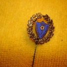 Pre WWII 1924 Dayton Edelweiss football socer stick pin badge offered by MTH