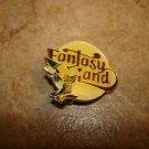 Walt Disney Fantasy Island Mickey Mouse all metal brooch pin badge.
