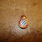 Vintage Real Club Deportivo Espanol all metal button hole soccer pin badge.