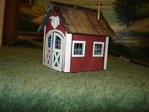O scale kit built Lionelville Carridge house offered by MTH..