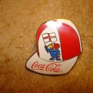 World cup soccer France 1998 Coca Cola pin badge.