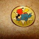 World cup soccer France 1998 mascot & Mc Donalds pin badge.