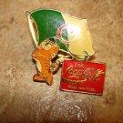 Olympics Seoul Korea 1988 Coca Cola pin badge.