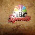 NBC Sports all metal pin badge.