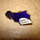 Derby County football soccer pin badge.