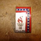 Atlanta 1996 olympics all metal pin badge.