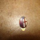Vintage FC Bologna button hole soccer pin badge