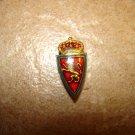 Vintage Zaragoza button hole soccer pin badge