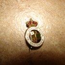 Vintage Racing Santader Club brooch soccer pin