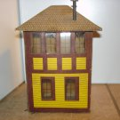 O scale kit built Lionelville old railroad tower.
