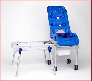 Item Number 5140 Omni Reclining Shower / Commode / Bath Transfer System