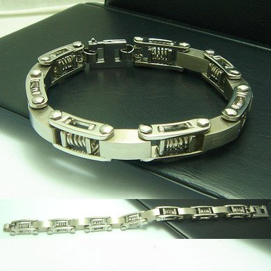 Mancelet 1: 316L Stainless Steel Men's Bracelet