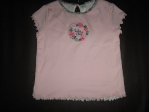 T-Shirt : Shortsleve GAP Pink