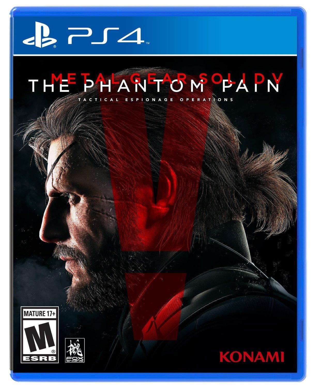 Metal Gear Solid V: The Phantom Pain - PlayStation 4 - Free Shipping