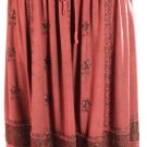 Embroidered ROMEO JULIET Satin Hem SKIRT