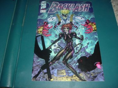 Backlash #7 (Image Comics, Brett Booth), Save $$ with Shipping Special, For Sale