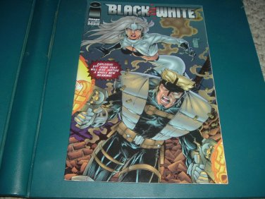Black & White #1 VERY FINE Art Thibert 1994 (Image Comics) Save $$ Shipping Special, for sale