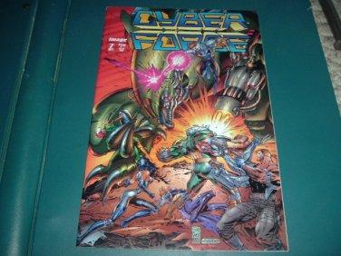Cyber Force vol 2 #7 VERY FINE+ (Marc Silvestri, Image Comics 1994) Cyberforce comic For Sale