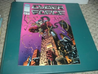 Cyber Force vol 2 #8 (TODD MCFARLANE ART, Image Comics 1994) Cyberforce comic For Sale
