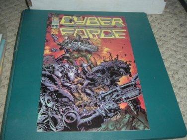 Cyber Force vol 2 #19 (David Finch art, Image Comics 1996) Cyberforce comic For Sale