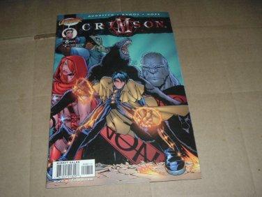 Crimson #8 Humberto Ramos regular Cover (DC/Cliffhanger Comics 1999) Save $$$ Shipping Special