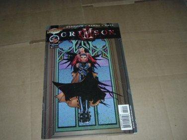 Crimson #12 Humberto Ramos regular Cover (DC/Cliffhanger Comics 1999) Save $$$ Shipping Special