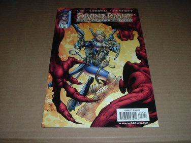 Divine Right: Adventures of Max Faraday #8 JIM LEE (1999 DC Wildstorm ex-Image Comics) for sale