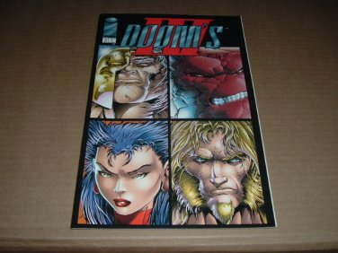 Doom's IV #3 NEAR MINT- (Rob Liefeld, Image Comics 1994) SAVE $$$ SHIPPING SPECIAL, comic for sale