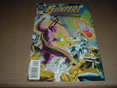 Gunfire #9 VF+, ERROR Edition (DC Comics 1995) SAVE $$$ SHIPPING SPECIAL, comic book for sale