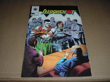 Bloodshot #4 Eternal Warrior co-stars (Valiant Comics 1993) SAVE $$$ SHIPPING SPECIAL, for sale