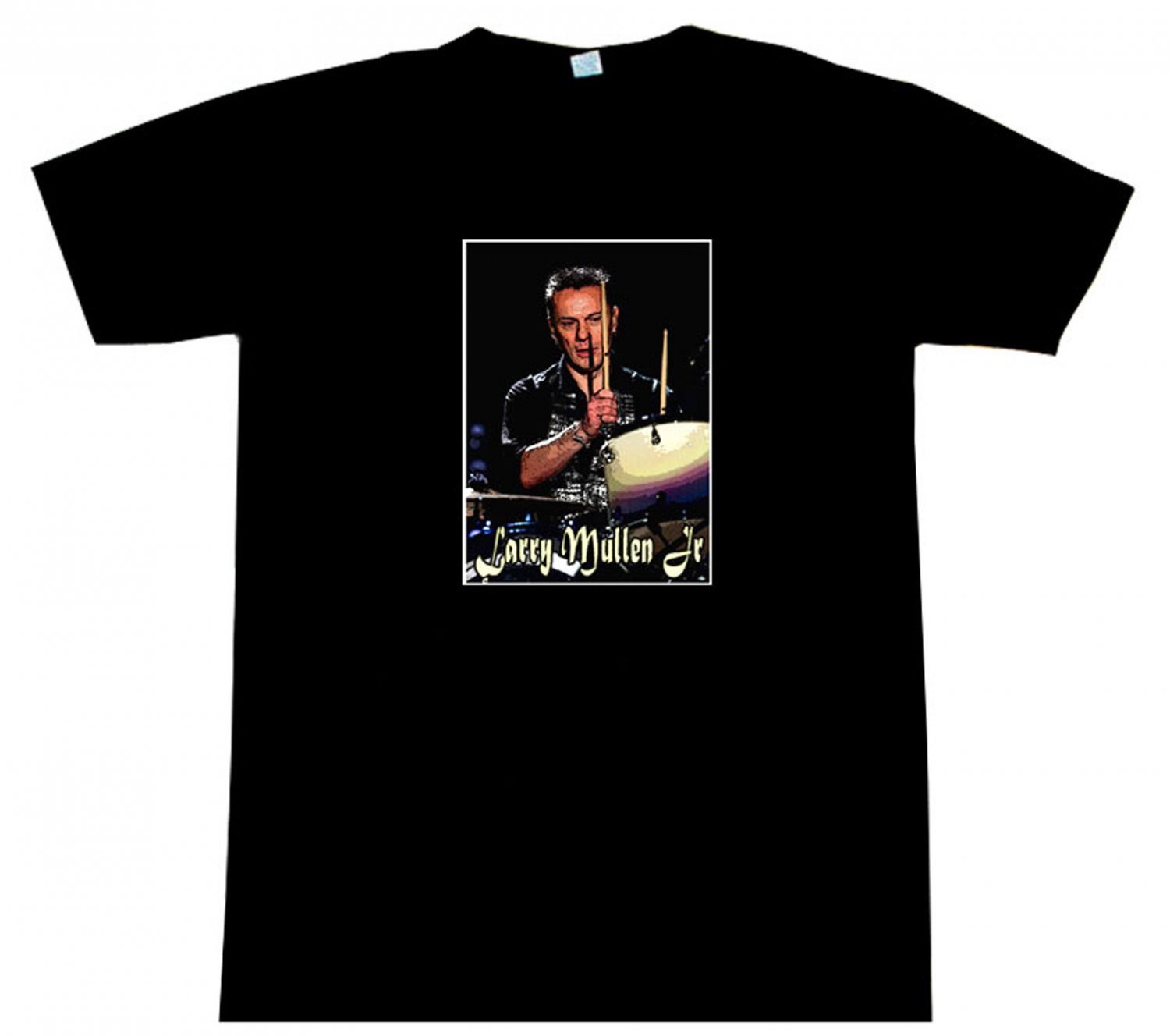 Larry mullen jr u2 t shirt beautiful for Simply for sports brand t shirts
