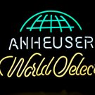 "Brand New Anheuser Lager World Select Beer Neon Sign 16""x 14"" [High Quality]"