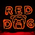 "Brand New Red Dog Energy Drink Beer Bar Neon Light Sign 16""x 14"" [High Quality]"