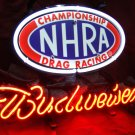 Brand New Budweiser Beer Drag Racing Neon Light Sign for Bar Pub Room Car Dealer